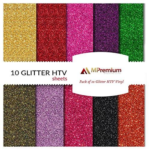 MiPremium PU Heat Transfer Vinyl, HTV Iron On Vinyl Starter
